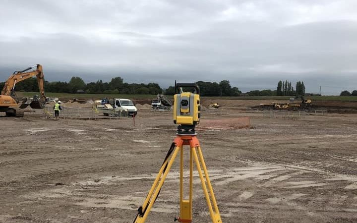 GEO (UK) Ltd providing land surveying services to Amazon