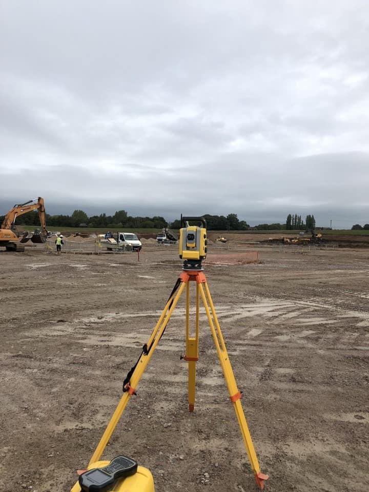 GEO (UK) Ltd providing land surveying services to Amazon